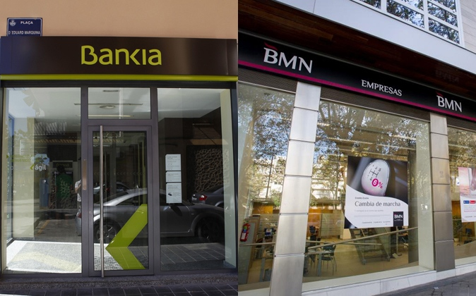 La fusi n bmn cajamurcia y bankia supondr el cierre de for Oficinas de bankia en murcia